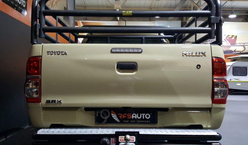 2015 Toyota Hilux 2.5 D-4D  SRX XC full